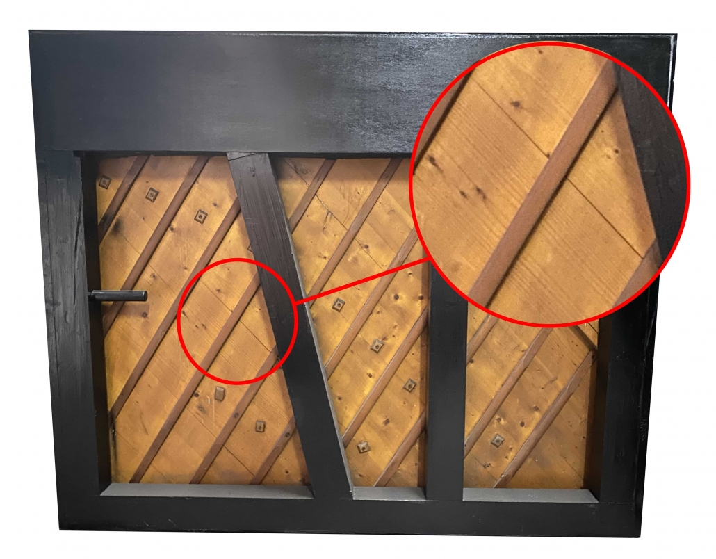 This is how Cracked Soundboard looks like. It will greatly affect your piano sound
