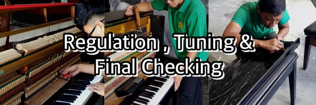 Piano Regulation, Tuning and Final Checking