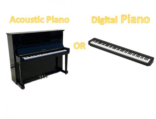Digital Keyboard VS Digital Piano VS Acoustic Piano.